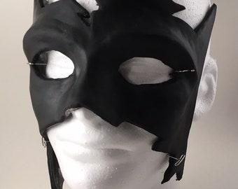 Krrish style black urethane mask