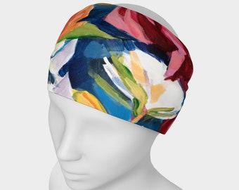 Big Red Rose Headband