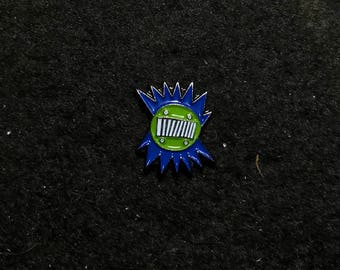 Blue and green mini amboogram