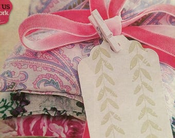 Easy Sew Lavender Bags Sewing Pattern