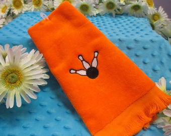 Fingertip Towel Personalized Bowling-FREE SHIPPING