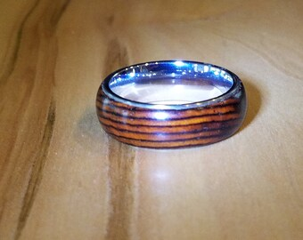 Cocobolo ring