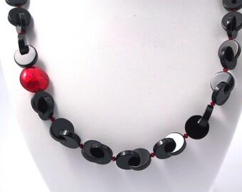 Asymmetry in Black & Red