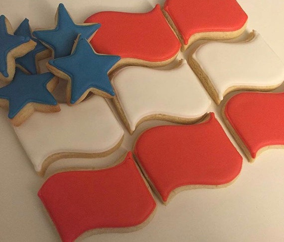 American Flag Cookies (pick up only)