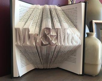 Mr. & Mrs. Book Fold