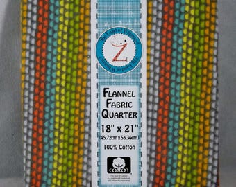 Woodsie Pal Cotton Flannel Fat Quarter - #130 - Land of Whimzie