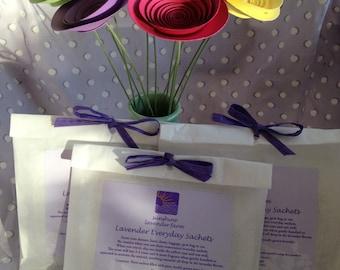 Everyday Lavender Sachets (3 Pack)