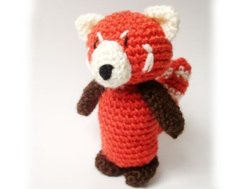 Amigurumi Red Panda Pattern