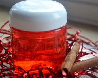 Red Hot Cinnamon Bubble Bath - Valentines Day Bubble Bath - Spa - Girlfriend- Wife - Gift for Her- cinnamon