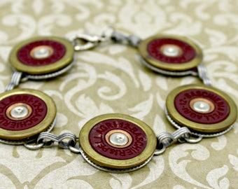 Annie Get Your Gun Spent Bullet Shotgun Shell Bracelet