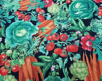 Vegetables - Levison Design for Timeless Treasures Fabrics of SoHo, LLC.