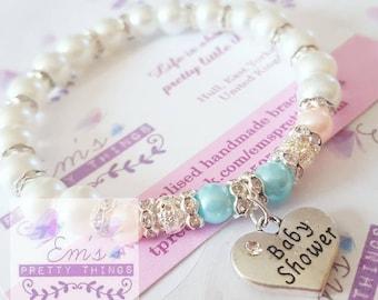 Baby Shower Handmade Bracelet