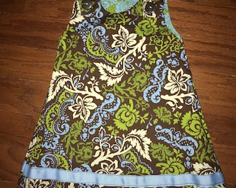 "Girls Reversible ""Lucy"" Dress"