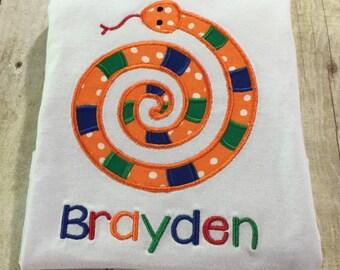 Personalized snake shirt
