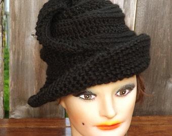 Crochet Pattern for Womens Hat,  Crochet Hat Pattern,  Crochet Pattern Hat,  Virginia Wide Brim Hat