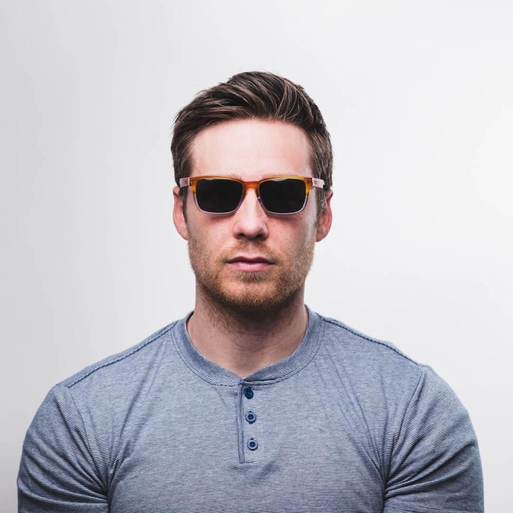 Mann Geschenk Holz Sonnenbrille klaren Rahmen Sonnenbrillen