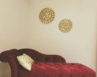 Luxurious Velvet Lounge Chaise
