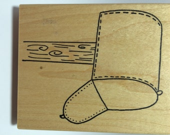 Mail Box Rubber Stamp by Azadi Earles, Inc.