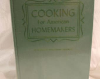 Cooking for American Homemakers, Culinary Arts Institute Encyclopedic Cookbook, 1965 Ruth Berolzheimer, with cover