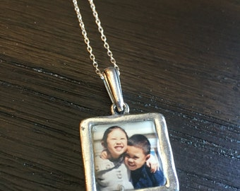 My Loves Photo Pendant Necklace