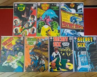 Secret Six Complete Serie #1 2 3 4 5 6 7 lot DC VF-