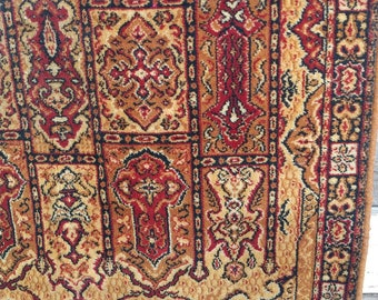 Vintage Turkish Rug in Neutral Tones
