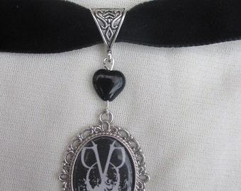 black Veil Brides Logo Choker