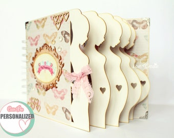 Pregnancy Journal Pregnancy diary Week by week Pregnancy album Mom to be journal Expecting baby diary Maternity gift Pregnancy gift