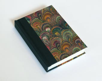 """Sketchbook 4x6"""" with motifs of marbled papers - 15"""