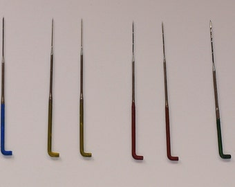Brand NEW Needle Felt Needles - Colour Color Coded Mixed Gauge - Pack Of 8 - Next Day Dispatch