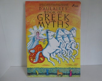 1962 D'aulaires Book of Greek myths