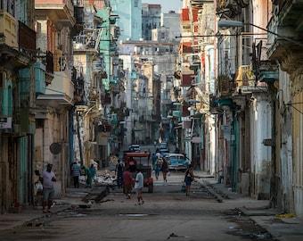 Old Havana print | Fine Art Print | Cuba Photography | Street Photography | Cuba Wall Art | Travel Photography | Cuba print | Cuban Print