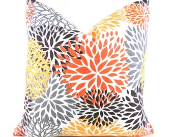 Pillow Covers Decorative Pillows  ANY SIZE Pillow Cover Premier Prints Blooms Chili Pepper