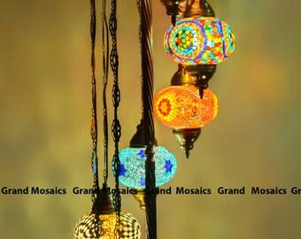 Floor Lamps,Turkish Lamps,boho Henna Decor,bohemian Decorating,turkish  Lanterns,
