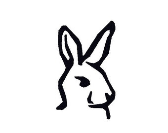 Easter Bunny Machine Embroidery Design, Easter embroidery design, Easter design, bunny embroidery pattern, Easter Bunny machine embroidery