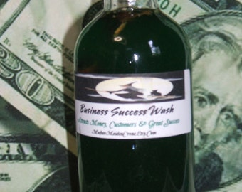 Business Cleaning Wash Wicca Pagan Spirituality Religion Ceremonies Hoodoo Metaphysical MaidenMotherCrone