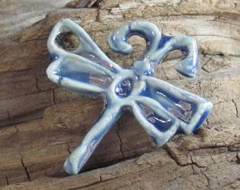 Ceramic Dragonfly in Blue