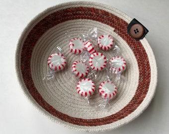 Rustic Home Dcor | Clothesline Basket | Coiled Rope Basket | Natural Decor | Storage Basket | Handmade | Kitchen Basket | Rope Bowl