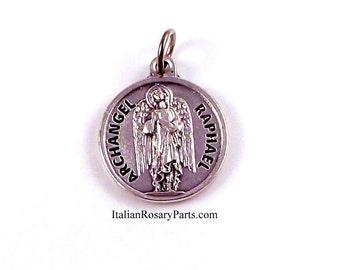 Saint Raphael The Archangel Medal Patron of Travelers | Italian Rosary Parts