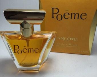 Lancome Poeme parfum. Eau de parfum 50ml. Vintage 1995s First edition.