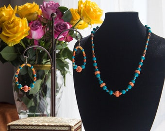 Colorful jewelry set