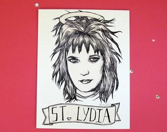Lydia Deetz impression par Aurora Dame
