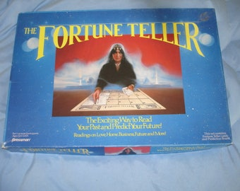 The Fortune Teller Set By Pressman 1989