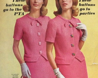 New Vogue Sewing Book 1974