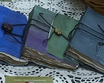 Thyme To Grow Journals~Book of Shadows, Oracle/Tarot Journal , Diary, Sketchbook~Milady Leela
