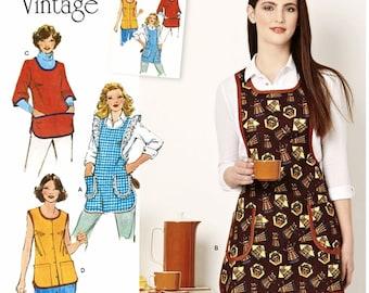 Sewing Pattern Apron Pattern, Smock Pattern, Vintage 1970's Apron Pattern, Simplicity Sewing Pattern 8152