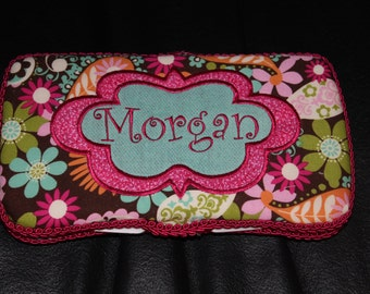 Personalized Baby Wipe Case