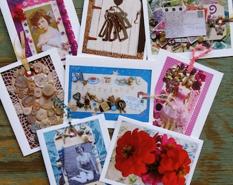 Girls and Women Greeting Cards