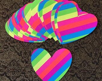 Paper Rainbow Shapes
