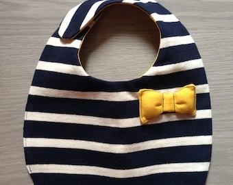 Sailor bib Little Breton and bow